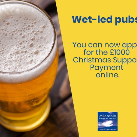 Grant scheme for pubs launched in Allerdale