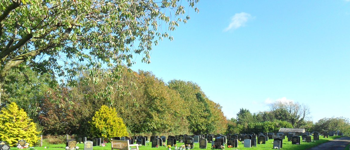 View of Dearham Cemetery