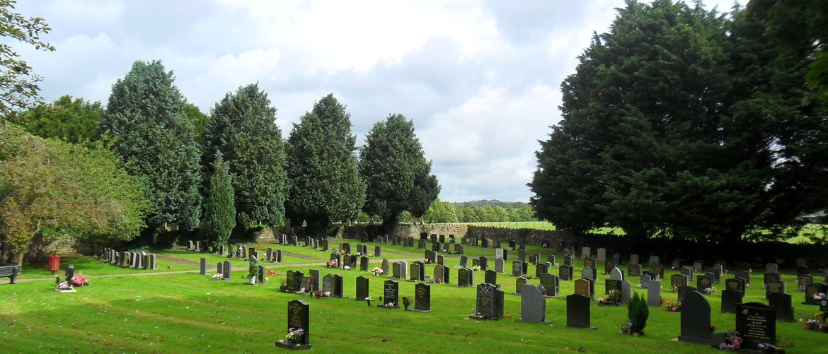 Brigham Cemetery in west Cumbria