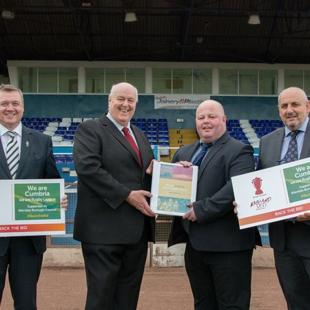 Bid to bring Rugby League World Cup to Workington submitted