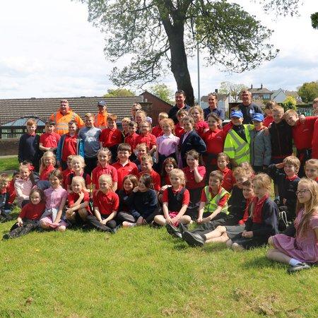 Ashfield School litter competition