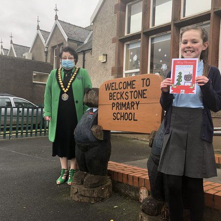 Mayor of Allerdale's Christmas card competition winner revealed