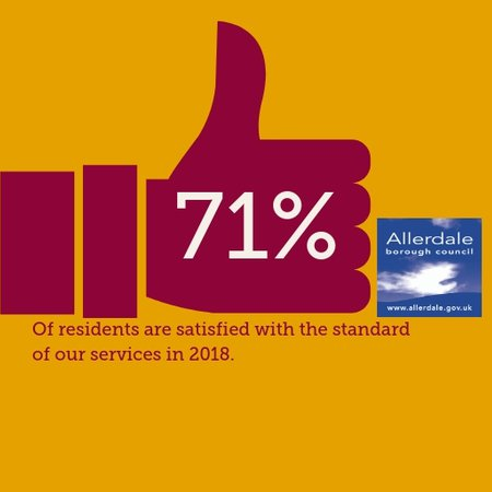Satisfaction with council services remains high