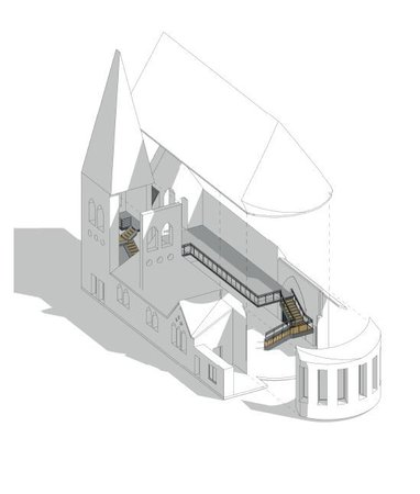 Proposed plans for Christ Church