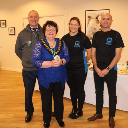 Lakes College triathlon challenge raises cash for Allerdale Mayor's charity fund