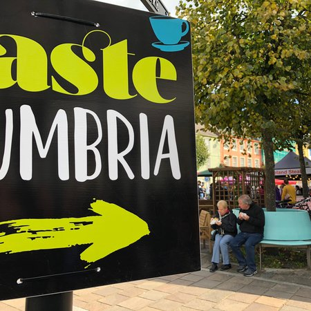 Taste Cumbria's flagship festival in Cockermouth is on!