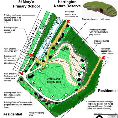Jubilee Park improvements