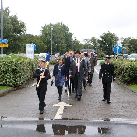 Mayor marks Merchant Navy Day