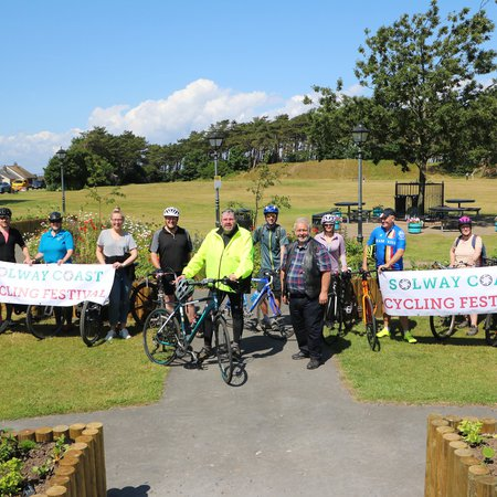 Itinerary for first-ever Solway Coast Cycling Festival revealed