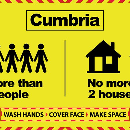 Protect your community message as two-household advice extended to whole county