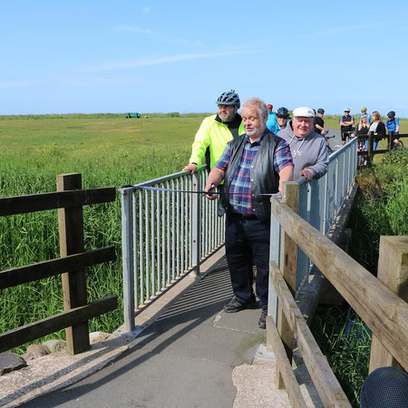 New Solway Coast cycleway opens