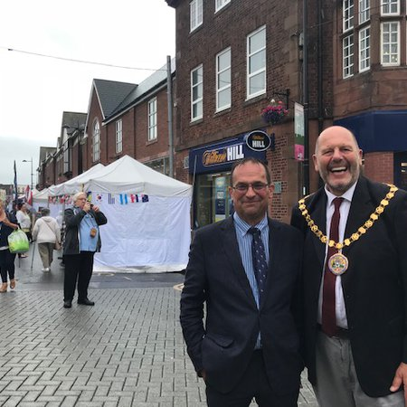 New manager appointed to run Allerdale's markets