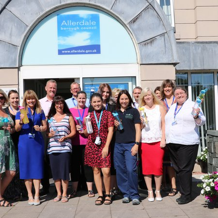 Council awarded silver status for its health and wellbeing support