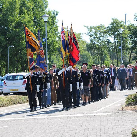 Mayor marks Armed Forces Day