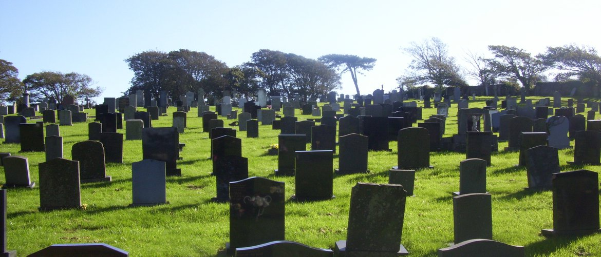 View of Flimby Cemetery